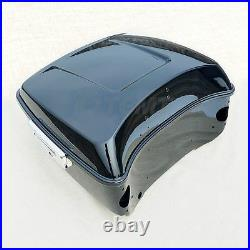 13.7 King Pack Trunk For Harley Tour Pak Touring Road Street Glide 14-20 19 18