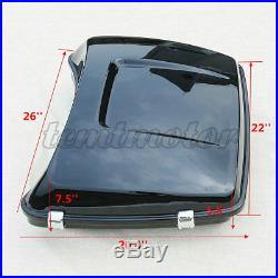5.5 Razor Pack Trunk with Two-Up Rack For Tour Pak Harley Road Street Glide 14-20
