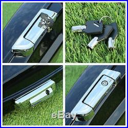 5.5 Razor Tour Pak Pack Trunk + Latch For Harley HD Touring Models 2014-2020 19