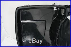 97-08 Black Chopped Tour Pak Trunk Pack for HD Harley Davidson touring models