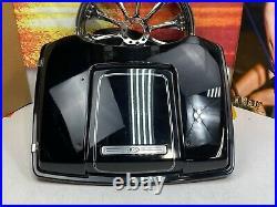 98-13 Harley Davidson Tour Pack Pak Lid Trunk Vivid Black OEM