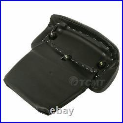 Black 5.5 Razor Pack Trunk Mount Rack For Harley Tour Pak Road Glide King 14-20