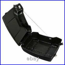 Chopped Pack Trunk Backrest Mounting Rack For Harley Tour Pak Road Glide 09-13