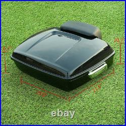 Chopped Pack Trunk Backrest Rack Plate For Harley Tour Pak Road Glide King 09-13