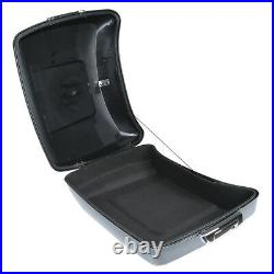 Chopped Trunk Backrest with Mounting Rack For Harley Touring Tour Pak Pack 14-2020