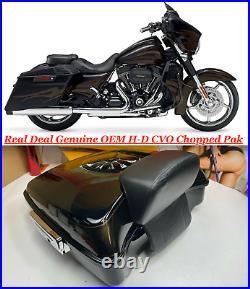Genuine 95-20 Harley CVO Touring CHOPPED Tour Pack Pak Backrest OEM