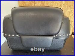 Harley Tour Pak Luggage Leather heritage Softail Style 53209-09