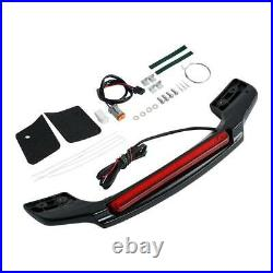 King Chopped Razor LED Tail Light Spoiler For Harley Tour Pak Electra Glide FLHT