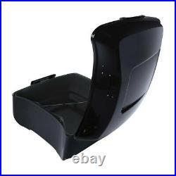 King Pack Trunk Backrest Black Luggage Rack For Harley Tour Pak Road Glide 14-20