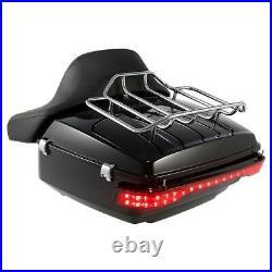 King Pack Trunk Backrest Brake Turn Tail Light Fit For Harley Tour Pak 2014-2020