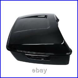 King Pack Trunk Black Latches Fit For Harley Tour Pak Touring Street Glide 14-20