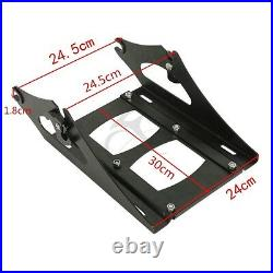 King Pack Trunk Pad Rack Docking Kit Fit For Harley Tour Pak Electra Glide 14-21