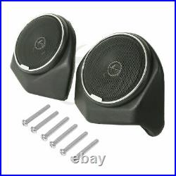 King Tour Pak Pack Trunk Backrest With Speakers For Harley Road Street Glide 14-20