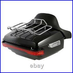 King Trunk Backrest Turn Tail LED Light For Harley Tour Pak Electra Glide 14-20