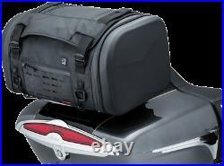 Kuryakyn 5221 Black XKursion Steward Rear Tour Pak Trunk Bag for Harley Davidson