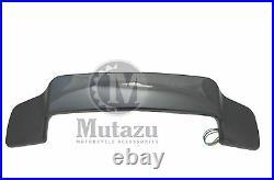 Mutazu Black Pearl Tour Pak LED Spoiler for Harley King Chopped Razor Paks 93-13
