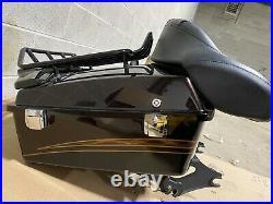 OEM 2012 Harley-Davidson CVO Road Chopped Tour-Pak 53000055DLH Maple Metallic
