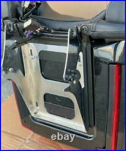 OEM Harley Davidson Vivid Black Electra Street Glide Tour Pak Touring Pack Trunk