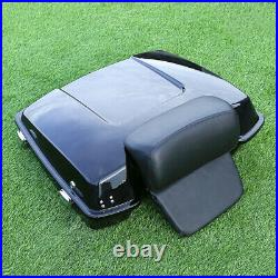 Razor Trunk Chopped Backrest Fit For Harley Touring Tour Pak Pack 1997-2013 2012