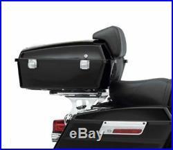 Razor Trunk Pack Backrest Rack For 09-13 Harley Tour Pak Road King Electra Glide